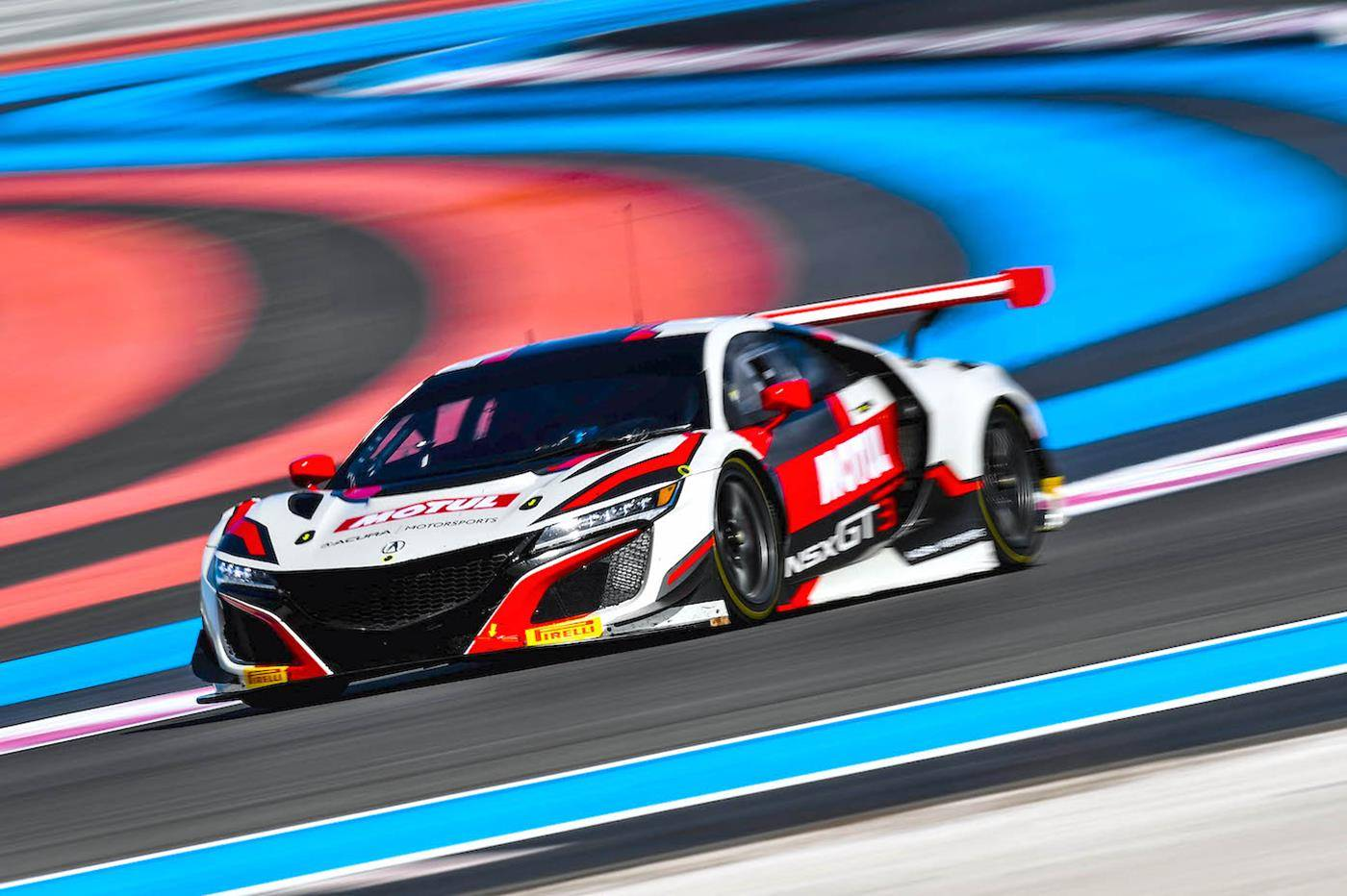 Immagine Bonanomi and Honda Fastest in Blancpain GT Test