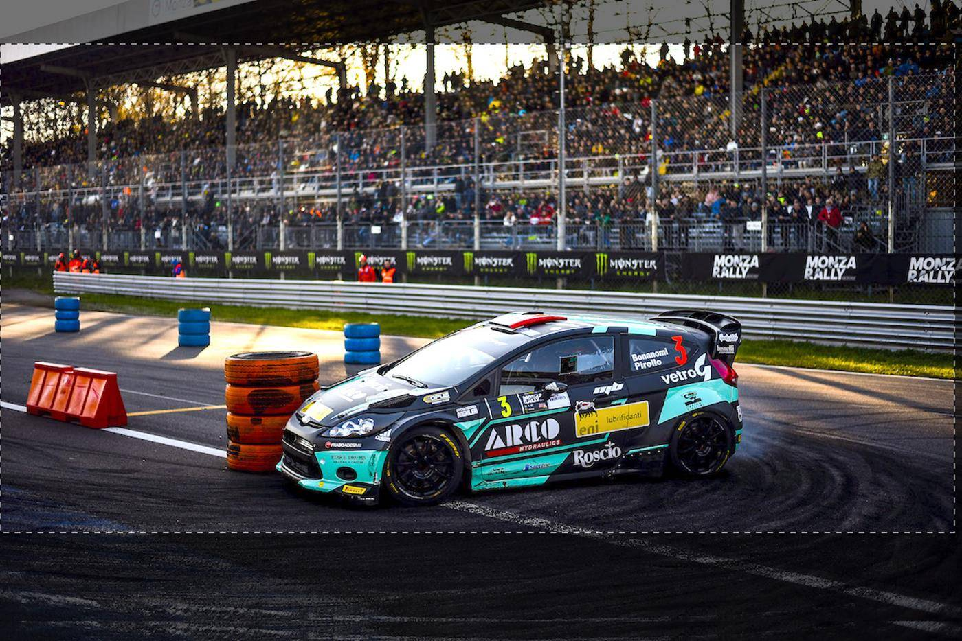 Immagine Bonanomi 2nd at Monza Rally Show 2018